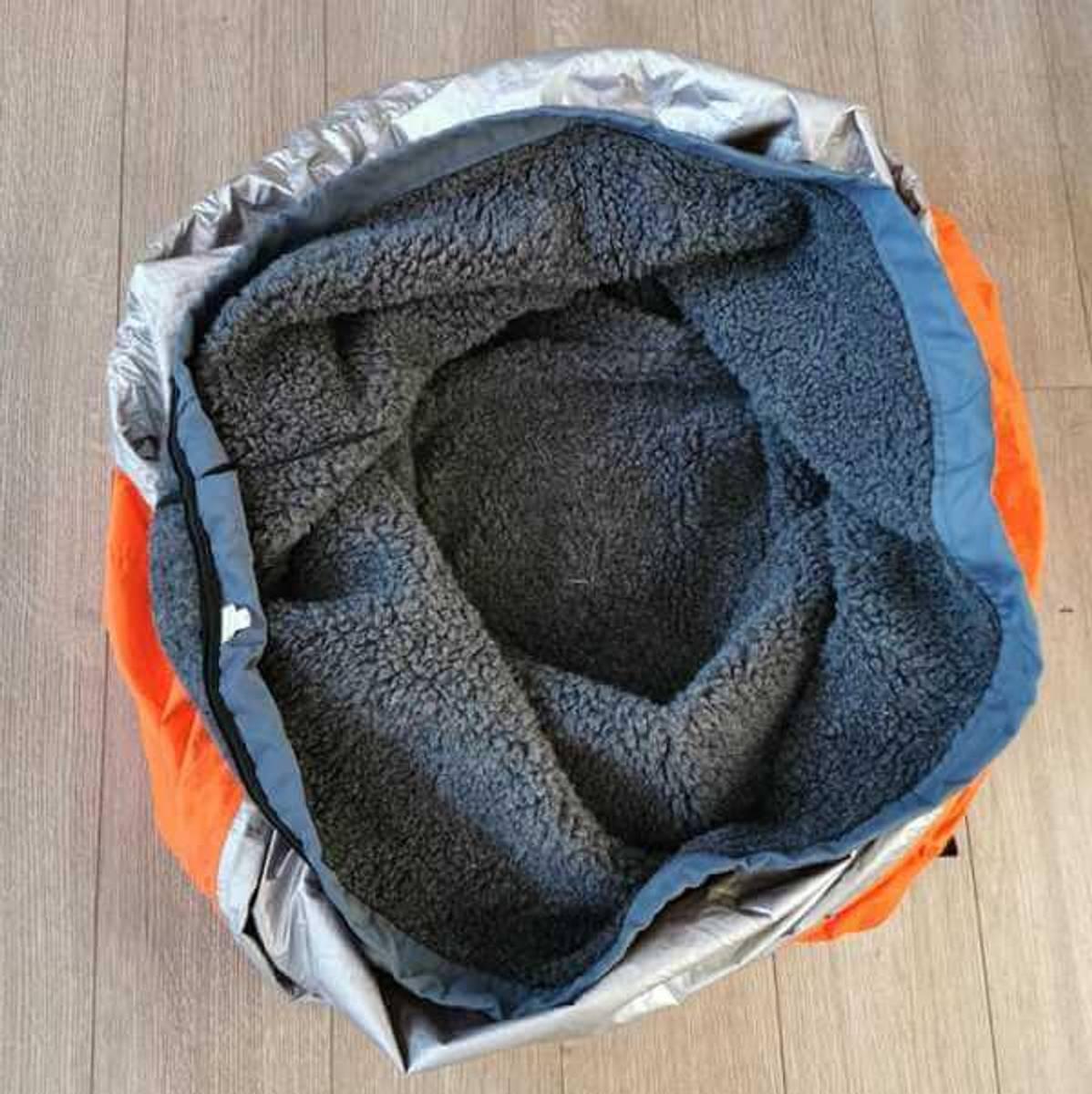 CAVE - varmepose i ull til hund