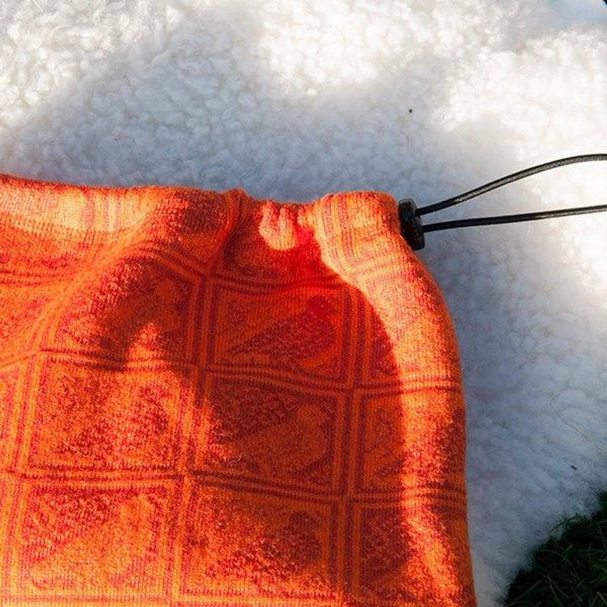Neck warmer DAKOTA - merino wool with grouse pattern